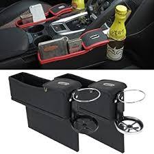 <b>Auto Car Seat</b> Gap-Catcher <b>Storage Box</b> Organizer Cup Crevice ...