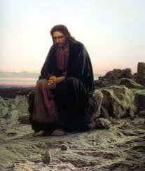 Image result for jesus in the desert