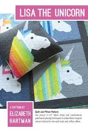 Lisa the <b>Unicorn</b> — <b>Patterns</b> by Elizabeth Hartman