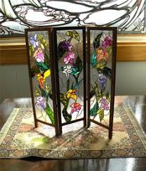 dollhouse miniature 112 scale artisan leaded glass room screen 8500 via etsy bl 112 dollhouse miniature