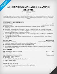 Resume For Accounting Manager Account Manager Resume Account