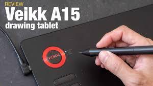 <b>Veikk A15</b> budget <b>drawing</b> tablet (review) - YouTube