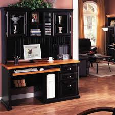 Home Computer Furniture Desks U Ffas Co Office Desk With Hutch   M