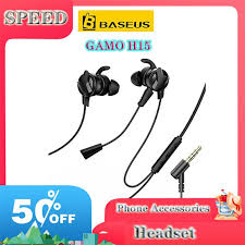 <b>BASEUS GAMO</b> H15 <b>Type</b>-<b>C Wired</b> Earphone Gaming Hi-Fi ...
