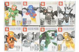 sy605 lego iron man minifigures bootleg iron man 2 starring