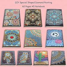 5D <b>DIY Diamond Painting</b> A5 Notebook Diary Book Sketchbook ...