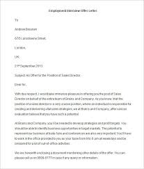 offer letter templates – free word  pdf format download    if you    ve found a potential candidate who you think is right for the post of a  s director at your firm  you must try this offer letter format in word