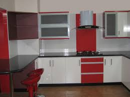 red bathroom decorating ideas divine red black kitchen design features gloss