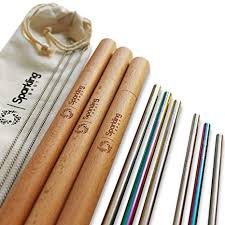 Reusable Straws with Case by Sparkling Spot - Eco ... - Amazon.com