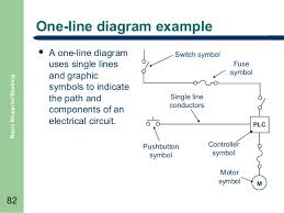 basic blueprint reading    normally closed     one line diagram