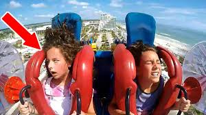 Kids Passing Out #5 | <b>Funny</b> Slingshot <b>Ride</b> Compilation - YouTube