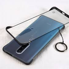 Ring Frameless Transparent Phone Case for OnePlus 7 Pro Sale ...
