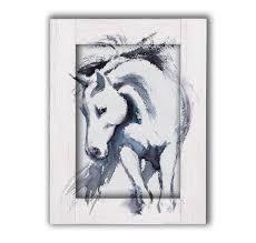 <b>Картина с арт рамой</b> Лошадь 70 х 90 см