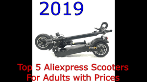 Top 5 <b>Electric Scooters</b> from AliExpress - YouTube