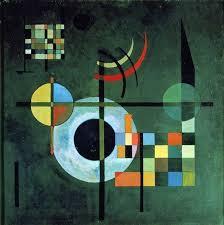 "Description of the <b>painting</b> by <b>Wassily Kandinsky</b> ""Gravity ..."
