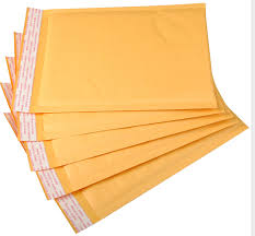 <b>10pcs</b>/lot Different <b>sizes</b> Yellow Poly Plastic <b>Bubble</b> Envelope Mailer ...