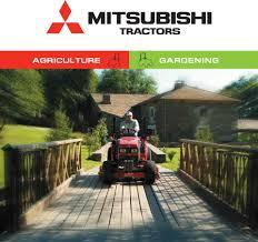 New MITSUBISHI Compact Tractor range: Strong, versatile, reliable ...