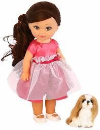 Детская <b>кукла Mary Poppins Элиза</b> Мой милый пушистик щенок ...