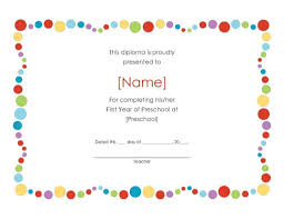 certificate templates for children template com certificate templates for children