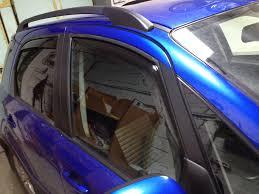 <b>Дефлекторы окон</b> — <b>Suzuki</b> SX4, 1.6 л., 2011 года на DRIVE2