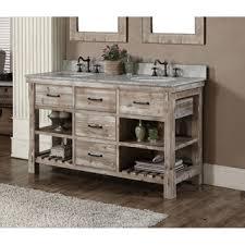 rustic style 60 inch single sink bathroom vanity photos bathroom vanity