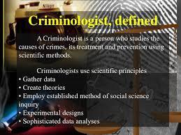 Image result for criminologist