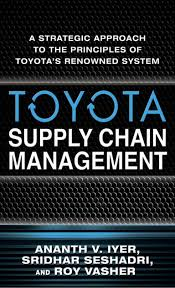 supply chain management of toyota case study by sabio bernard toyota supply chain management