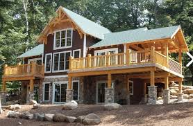 Beautiful Timber Frame Houses   Pictures and Planstimber frame house picture