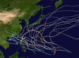 saison cyclonique 1957 dans l'océan Pacifique nord-ouest