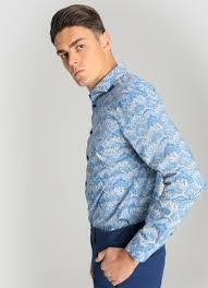 <b>Рубашка из хлопка с</b> принтом Paisley (MS4W43-64) купить за 599 ...