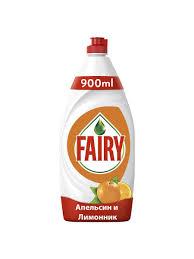 <b>Средство</b> для мытья <b>посуды Fairy</b> Апельсин и лимоннник 900 мл ...