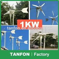 <b>600w</b> 1kw 2kw <b>Horizontal Axis</b> Permanent Magnet Wind Turbine ...