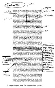 paris review gabriel garc iacute a m aacute rquez the art of fiction no  view manuscript