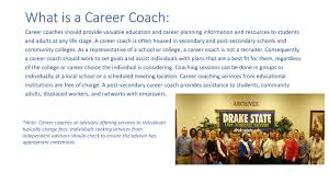 drake state community and technical college career coaching services career coach services available · kuder training services · dual enrollment · resources