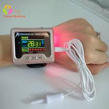 <b>650nm</b> Laser Therapy Watch Home Wrist Diode High <b>Blood</b> ...