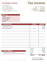service invoice tax calculation service invoices service invoice tax calculations