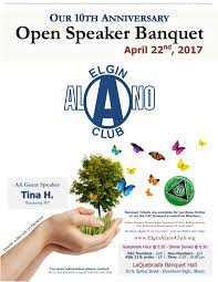 eac s th annual open speaker banquet elgin alano club