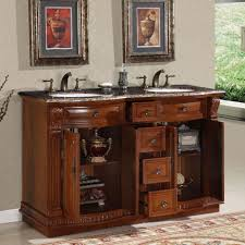 55 inch double sink bathroom vanity: double sink cabinet bathroom vanity hyp  t uwc  bathroom