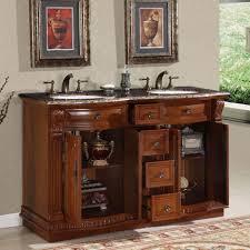 55 inch double sink bathroom vanity: double sink cabinet bathroom vanity hyp  t uwc  bathroom