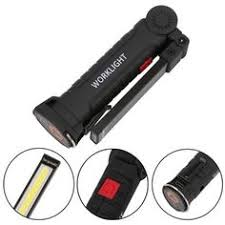 Portable <b>Rechargeable Magnetic</b> Hanging <b>Flashlight</b> Lamp (5 Modes)