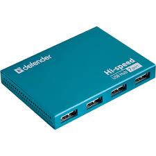 Универсальный <b>USB разветвитель Defender</b> Septima Slim USB2 ...