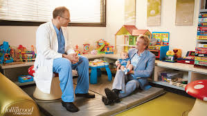 hollywood s top doctors 2015 hollywood reporter dr mark krieger nigel lythgoe and grandson leo lythgoe