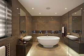 homy bathroom recessed lighting ideas espresso