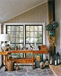 beautiful bar on the rustic porch is all geared up for fun fall parties design amazing rustic small home