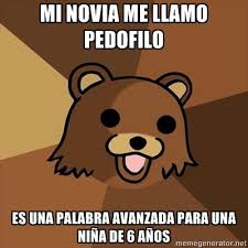 oh pedobear you are so creepy | memes | Pinterest via Relatably.com