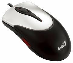 <b>Мышь Genius</b> NetScroll 100 Silver-Black PS/2 — купить по ...
