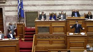 Αποτέλεσμα εικόνας για βουλή μητσοτακησ τσιπρας