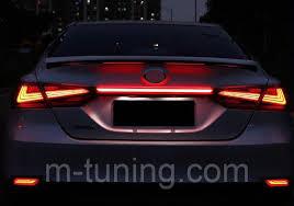 <b>Вставка между</b> фонарей <b>Led</b> тюнинг оптика Toyota Camry v70 ...