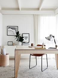 plyroom home danish study room photo in melbourne with white walls and a freestanding desk brilliant office work table