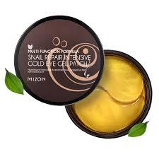 Пачти гидрогелевые <b>MIZON Snail Repair</b> Intensive Gold Eye Gel ...